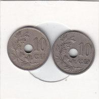 2 X 10 Centimes  Albert I 1921 FR Et FL - 1909-1934: Albert I