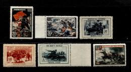 Russia 1945 Mi 953-958 MNH OG - Nuovi