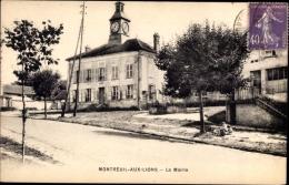 Cp Montreuil Aux Lions Aisne, La Mairie, Bürgermeisteramt - Other Municipalities
