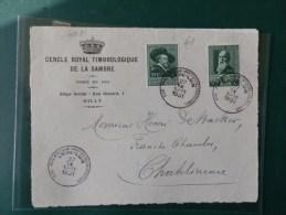 A4081  DEVANT  LETTRE  1931 - Belgien
