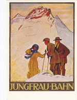 REPRO  PLAKAT KARTE D´AFFICHE  JUNGFRAU BAHN - BE Berne