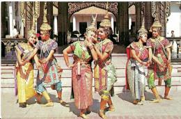 Thaïlande. Bangkok. Groupe De Danse Classique Thaï. - Thaïlande