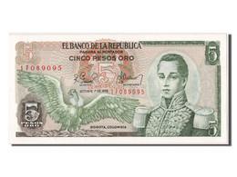 [#302638] Colombie, 5 Pesos Oro Type Cordoba - Colombie