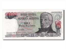 [#302642] Argentine, 10 Pesos Argentinos Type San Martin - Argentine