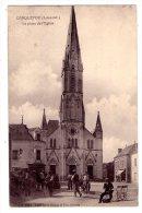 Carquefou - La Place De  L'Eglise - Scan Recto-verso - Carquefou