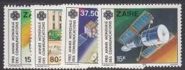 ZAIRE, 1983 COMMUNICATIONS 4 MNH - Zaire