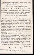 DP: Sylvie Simeleyn - Lokeren - Vieux Papiers