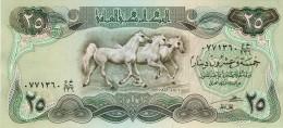BILLET # IRAK # 25 DINARS # 1980 / 82 / PICK 72 #  NEUF   #