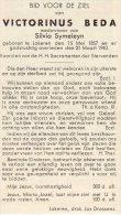 DP: Victorinus Beda - Symeleyn - Lokeren - Vieux Papiers