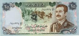 BILLET # IRAK # 25 DINARS # 1986 / PICK 73 #  NEUF   #