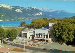C P M----74----ANNECY---le Casino Le Lac Le Mont Veyrier Et La Tourette---voir 2 Scans - Annecy