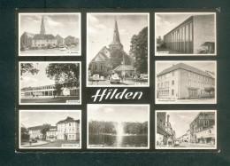Hilden - Multivues  ( Realschule St Jakobus Türnhalle Mittelstr. Benratherstr. Stadtsparkasse N°401) - Hilden