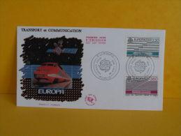FDC- Europa CEPT, TGV - Paris - 30.4.1988 - 1er Jour - Europa-CEPT