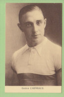 Gaston CARPRIAUX. 2 Scans. Edition Sportkaarten Frank Nels - Cyclisme