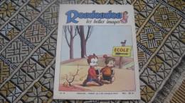 Arnal ROUDOUDOU Les Belles Images 26 De Janvier 1953 Humanité Pif Vaillant Gadget Placid Muzo école Instituteur Punition - Other Magazines