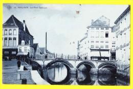 * Mechelen - Malines (Antwerpen - Anvers) * (SBP, Nr 15) Le Pont Gothique, TOP CPA, TOPKAART, Rare, Brug, Canal, Péniche - Mechelen