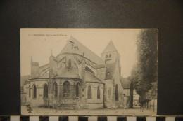 CP, 18, Bourges Eglise Saint Pierre N°7 Edition MTIL Dos Simple Precurseur 1904 - France