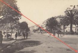 Photo Sur Carton Alpes Maritimes Nice En 1909 - Orte