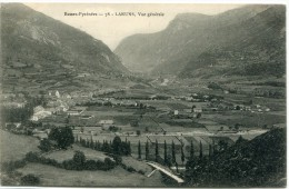 CPA 64 LARUNS VUE GENERALE - Laruns