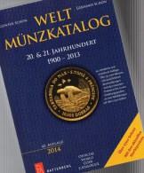 Weltmünzkatalog 2014 Schön Neu 50€ Münzen 20/21.Jahrhundert A-Z Coins Of The World: Europa Amerika Afrika Asien Oceanien - Monnaies