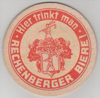 Bierdeckel Brauerei Rechenberg Hier Trinkt Man Rechenberger Erzgebirge - Bierdeckel