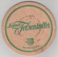 Bierdeckel Brauerei Meissen Meissner Felsenkeller Das Heimatbier DDR VEB - Bierdeckel
