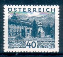 AUSTRIA Österreich 1929 Vedute E Paesaggi 40 G ** MNH LUSSO - Nuevos