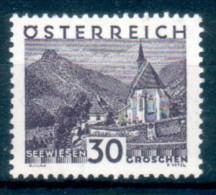 AUSTRIA Österreich 1929 Vedute E Paesaggi 30 G ** MNH LUSSO - Nuevos