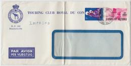 20301 GF, Tarif Imprimé Avion S/ Env. Fenetre Madonne TOURING CLUB ROYAL DU CONGO Bureau Elisabethville 7 Du 2-5-1961 - Katanga