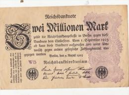 Billets - B1056-  Allemagne   - Billet   Zwei  Millionen   Mark 1923 ( Type, Nature, Valeur, état... Voir Scan) - 2 Millionen Mark