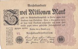 Billets - B1057-  Allemagne   - Billet   Zwei  Millionen   Mark 1923 ( Type, Nature, Valeur, état... Voir Scan) - 2 Millionen Mark