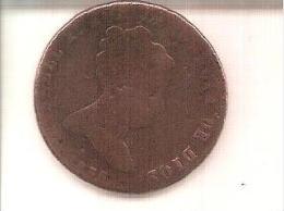 8 Maravedis Isabel II 1835 J - Espagne