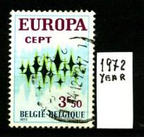 -EUROPA - CEPT- BELGIO - BELGIQUE - Year 1972 - Viaggiata - Traveled - Voyagè - Gereist. - Europa-CEPT