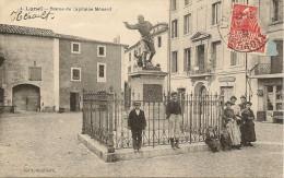 34/ Lunel Statue Du Capitaine Ménard - N°4 Edition Soubeille - Lunel