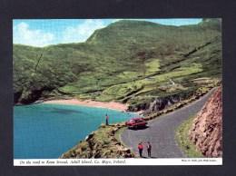 On the road to Keem Strand Achill Island Co Mayo Ireland Irlande