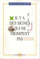Le Nouveau Billet De 200F EIFFEL. Il Y A Des Signes Qui Ne Trompent Pas.  BDF - Français