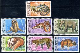 Vietnam Viet Nam MNH Perf Stamps 1984 : Wild Animals / Tiger / Elephant / Leopard / Ox (Ms434) - Viêt-Nam