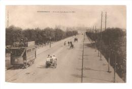 DUNKERQUE -  Avenue Des Bains De Mer    CPA (tramway, Charettes) - Tramways