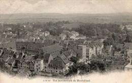 -CPA 25 : MONTBELLIARD, Une Vue - Montbéliard