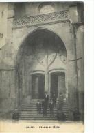 CHATEL --Entrée De L'église - France