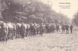 Armée Belge     Position D'attente - Manoeuvres