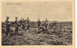 Artillerie De Pointage - Manoeuvres