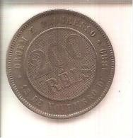 200 Réis 1889 - Brésil