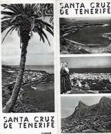 PUBLICITÉ GUIDE TOURISTIQUE SANTA CRUZ DE TENERIFE ESPAGNE - Advertising