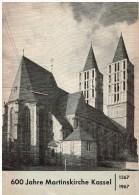 Programm 600 Jahre  Martinskirche Kassel - Programme 600ème Anniversaire De L'Eglise Martin Kassel - Programs