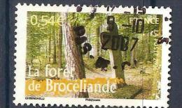 La Foret Brocéliande Arbre France - Used Stamps