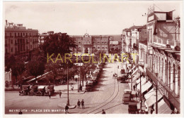 Liban - Beyrouth, Place des Martyrs  n � 65 (Editeur Photo Sport, rue Weygand � Beyrouth), comme neuf