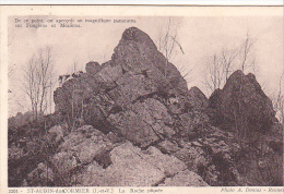 22364 SAINT St AUBIN DU CORMIER N° 2201 LA ROCHE PIQUEE PANORAMA   Fougeres Mezieres -Donias Rennes - France