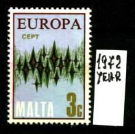 -EUROPA - CEPT- MALTA - Year 1972 - Viaggiata - Traveled - Voyagè - Gereist. - Europa-CEPT