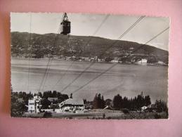 CPSM VEYRIER  N°1188 TELEFERIQUE  - ECRITE EN 1955 - Veyrier